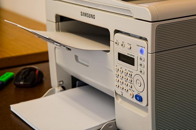 複合機(コピー機)のfax機能